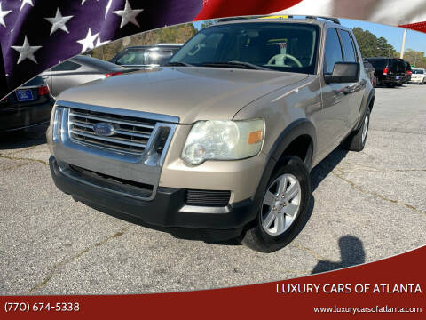 2007 Ford Explorer Sport Trac for sale at Luxury Cars of Atlanta in Snellville GA