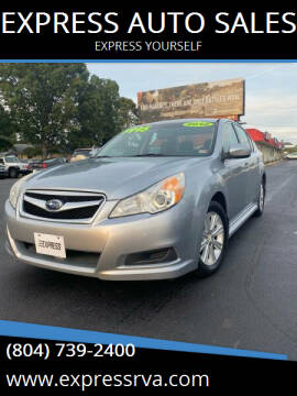 2012 Subaru Legacy for sale at EXPRESS AUTO SALES in Midlothian VA