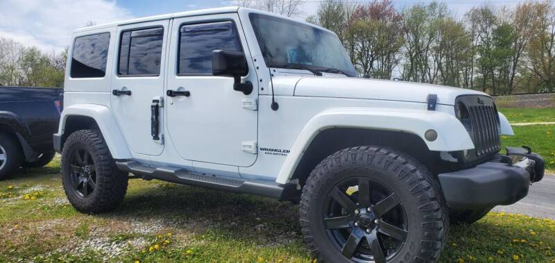 2014 Jeep Wrangler Unlimited for sale at Sinclair Auto Inc. in Pendleton IN