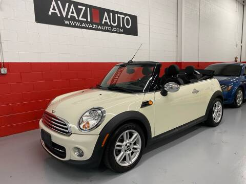 2011 MINI Cooper for sale at AVAZI AUTO GROUP LLC in Gaithersburg MD