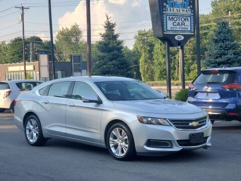 2014 Chevrolet Impala for sale at Broadway Motor Car Inc. in Rensselaer NY