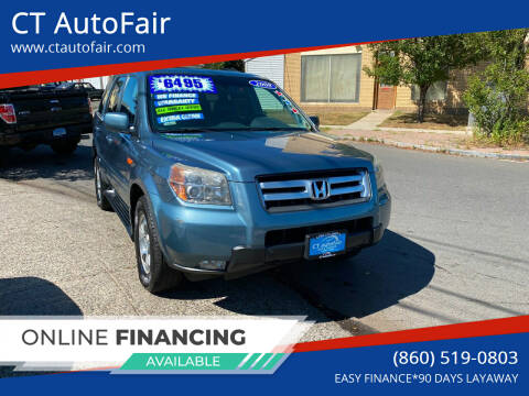2008 Honda Pilot for sale at CT AutoFair in West Hartford CT