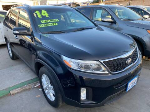 2014 Kia Sorento for sale at CAR GENERATION CENTER, INC. in Los Angeles CA