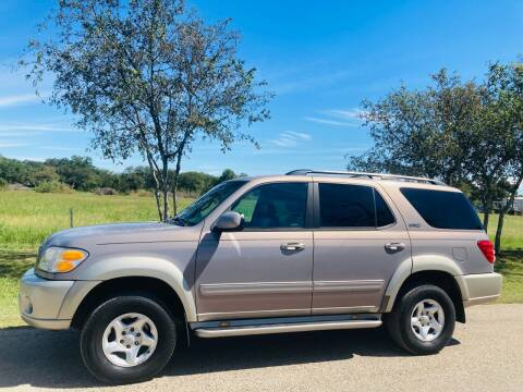 2001 Toyota Sequoia for sale at 707 Truck Sales in San Antonio TX