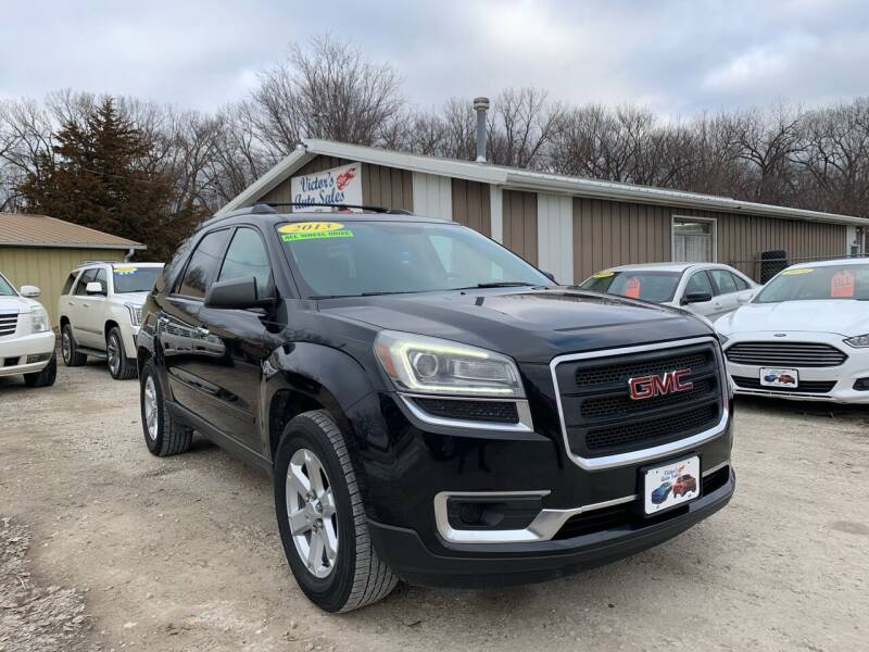 2013 GMC Acadia for sale at Victor's Auto Sales Inc. in Indianola IA