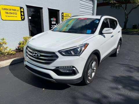 2017 Hyundai Santa Fe Sport for sale at FLORIDA CAR TRADE LLC in Davie FL