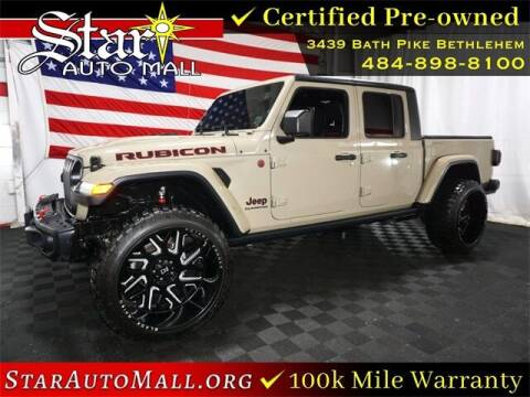 2020 Jeep Gladiator for sale at STAR AUTO MALL 512 in Bethlehem PA