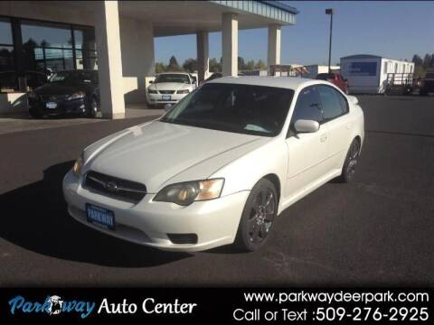 2005 Subaru Legacy for sale at PARKWAY AUTO CENTER AND RV in Deer Park WA