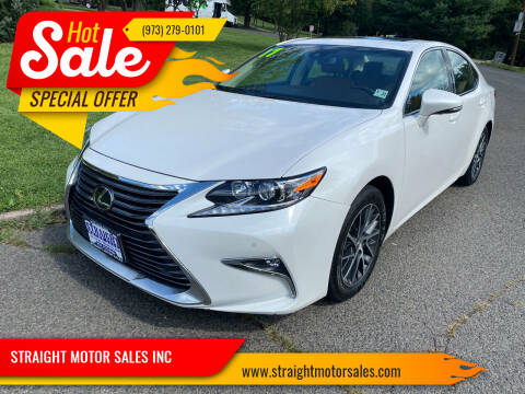 2017 Lexus ES 350 for sale at STRAIGHT MOTOR SALES INC in Paterson NJ