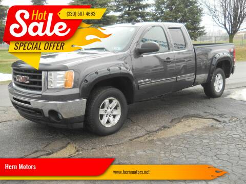 2011 GMC Sierra 1500 for sale at Hern Motors - 111 Hubbard Youngstown Rd Lot in Hubbard OH
