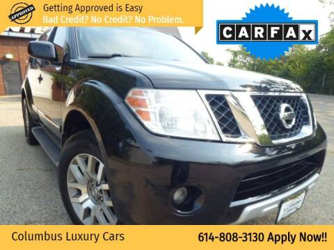 2012 Nissan Pathfinder for sale at Columbus Luxury Cars in Columbus OH