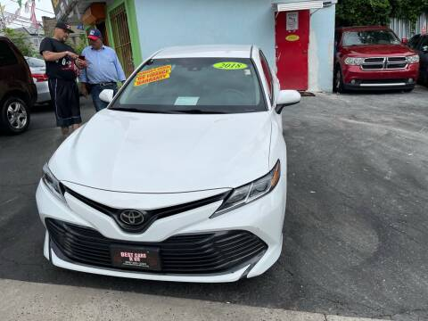 2018 Toyota Camry for sale at Best Cars R Us LLC in Irvington NJ