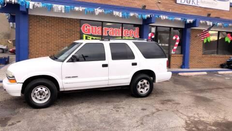 2004 Chevrolet Blazer for sale at Duke Automotive Group in Cincinnati OH