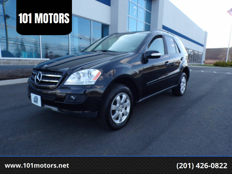 2007 Mercedes-Benz M-Class for sale at 101 MOTORS in Hasbrouck Height NJ