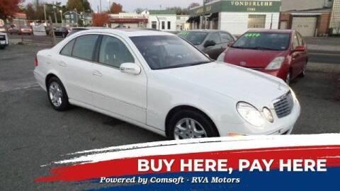 2005 Mercedes-Benz E-Class for sale at RVA MOTORS in Richmond VA