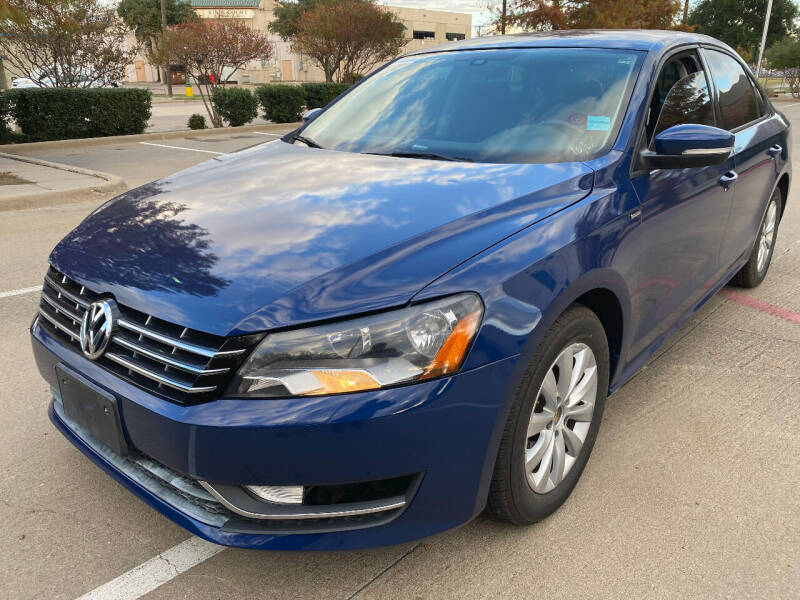 2015 Volkswagen Passat for sale at Ted's Auto Corporation in Richardson TX