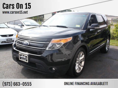 2011 Ford Explorer for sale at Cars On 15 in Lake Hopatcong NJ