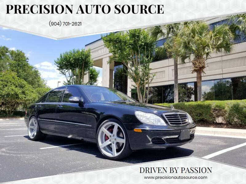 2005 Mercedes-Benz S-Class for sale at Precision Auto Source in Jacksonville FL