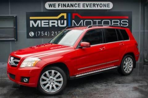 2010 Mercedes-Benz GLK for sale at Meru Motors in Hollywood FL