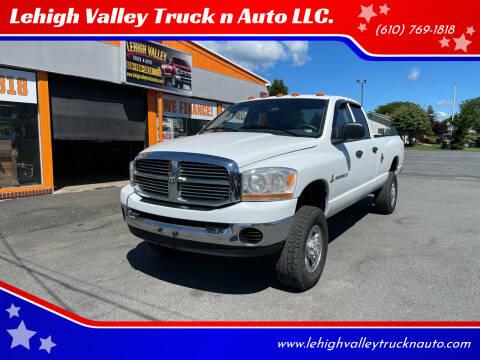 2006 Dodge Ram Pickup 2500 for sale at Lehigh Valley Truck n Auto LLC. in Schnecksville PA
