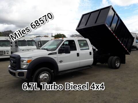 2013 Ford F-550 Super Duty for sale at DOABA Motors in San Jose CA