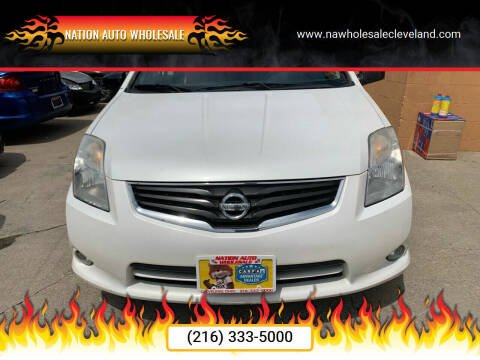 2011 Nissan Sentra for sale at Nation Auto Wholesale in Cleveland OH