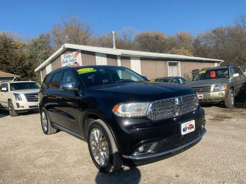 2014 Dodge Durango for sale at Victor's Auto Sales Inc. in Indianola IA