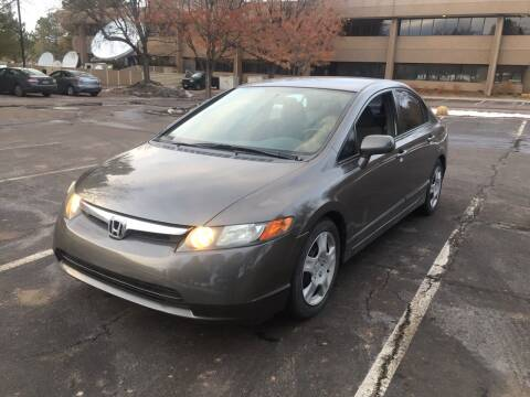 2008 Honda Civic for sale at QUEST MOTORS in Englewood CO