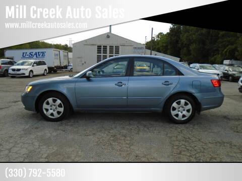 2010 Hyundai Sonata for sale at Mill Creek Auto Sales in Youngstown OH