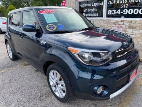 2017 Kia Soul for sale at GOL Auto Group in Austin TX