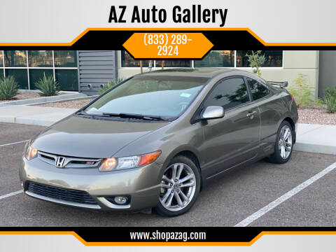 2007 Honda Civic for sale at AZ Auto Gallery in Mesa AZ