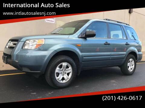 2007 Honda Pilot for sale at International Auto Sales in Hasbrouck Heights NJ
