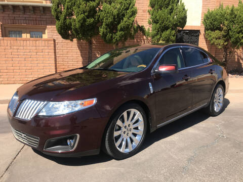 2010 Lincoln MKS for sale at Freedom  Automotive in Sierra Vista AZ