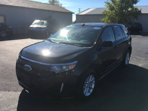 2014 Ford Edge for sale at JACK'S AUTO SALES in Traverse City MI