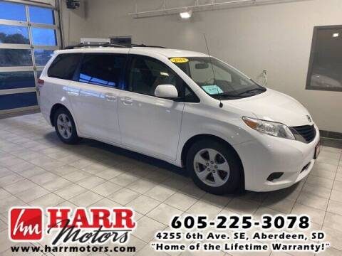 2011 Toyota Sienna for sale at Harr's Redfield Ford in Redfield SD
