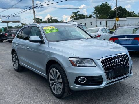 2013 Audi Q5 Hybrid for sale at MetroWest Auto Sales in Worcester MA