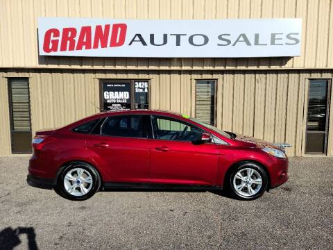2014 Ford Focus for sale at GRAND AUTO SALES in Grand Island NE