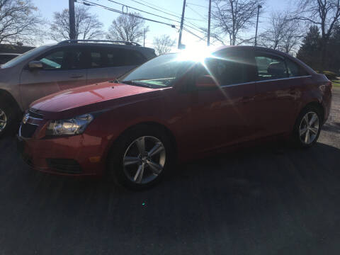 2014 Chevrolet Cruze for sale at K B Motors in Clearfield PA