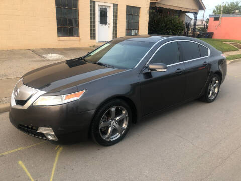 2010 Acura TL for sale at Finish Line Motors in Tulsa OK