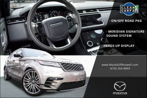 2018 Land Rover Range Rover Velar for sale at Mazda Of Roswell in Roswell GA