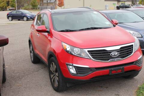 2012 Kia Sportage for sale at Bowman Auto Sales in Hebron OH