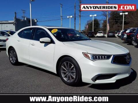 2018 Acura TLX for sale at ANYONERIDES.COM in Kingsville MD