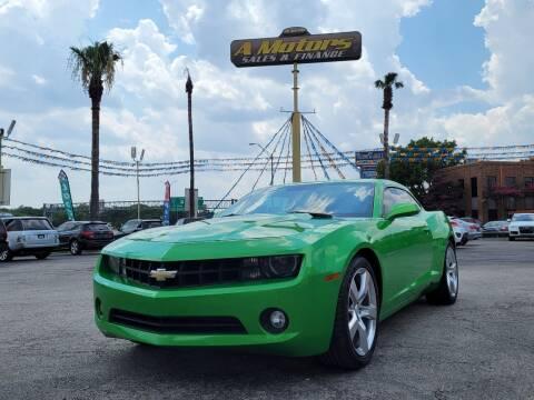 2011 Chevrolet Camaro for sale at A MOTORS SALES AND FINANCE in San Antonio TX