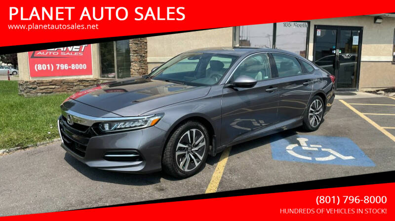 2018 Honda Accord Hybrid for sale at PLANET AUTO SALES in Lindon UT