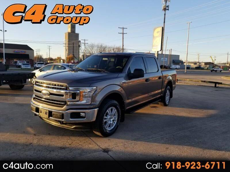 2018 Ford F-150 for sale at C4 AUTO GROUP in Claremore OK