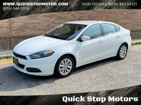2014 Dodge Dart for sale at Quick Stop Motors in Kansas City MO