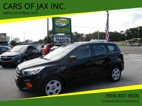 2017 Ford Escape for sale at CARS OF JAX INC. in Jacksonville FL