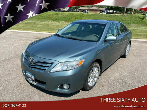 2011 Toyota Camry for sale at Three Sixty Auto in Elysian MN