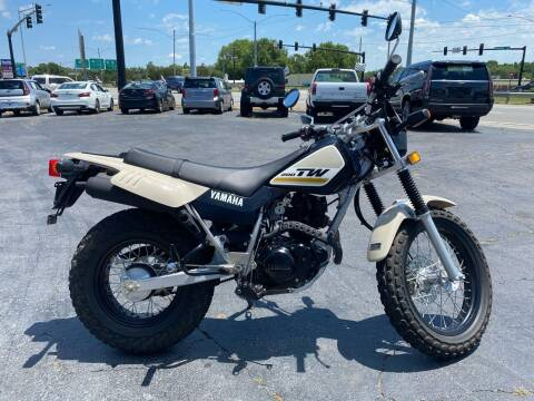 2020 Yamaha TW200 for sale at Brian Jones Motorsports Inc in Danville VA
