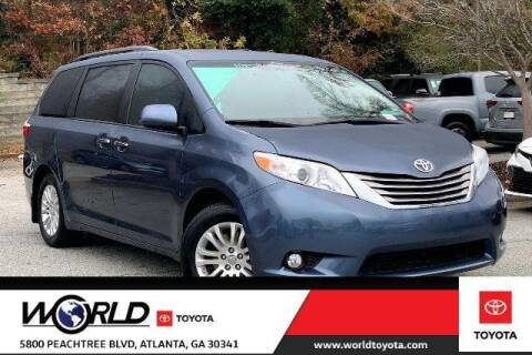 2017 Toyota Sienna for sale at CU Carfinders in Norcross GA